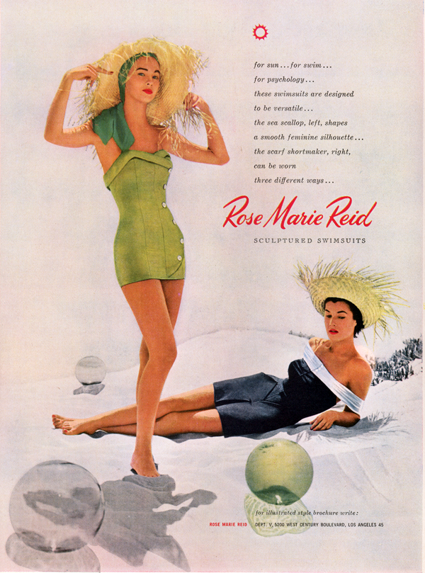 2bb743c69e Vintage swimwear collection rose marie reid jpg 600x809 Rose marie reid  swimsuits