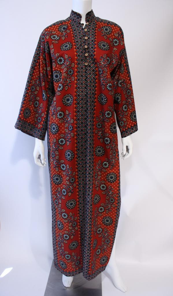 Vintage 70's I. Magnin Caftan at Rice and Beans Vintage