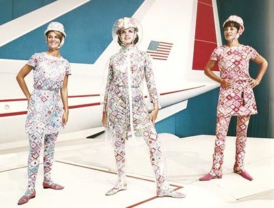 Pucci for braniff airlines 1960's