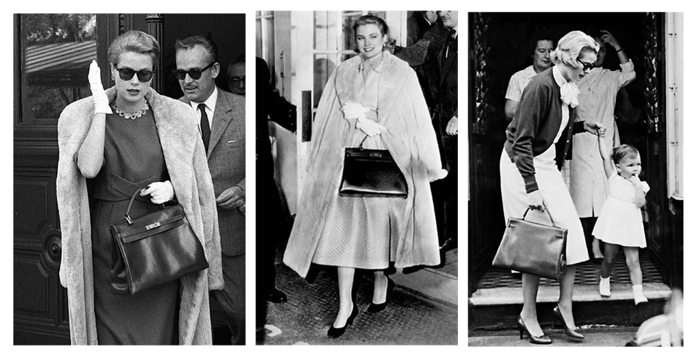 Grace Kelly & Hermes Kelly Bag