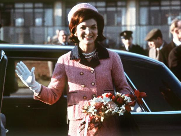 Jackie Kennedy in a Chanel Suit