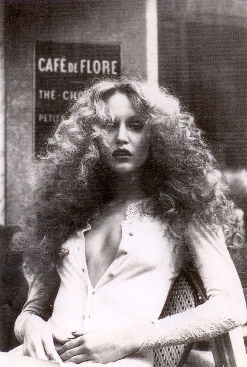 Jerry Hall - 1970s fashion icon