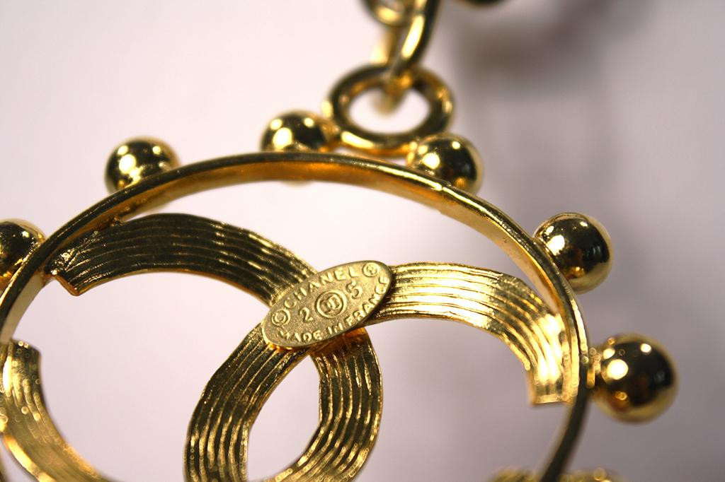 Vintage Chanel jewelry mark