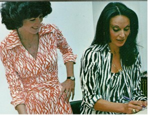 Diane von Furstenberg and her Iconic Wrap Dress