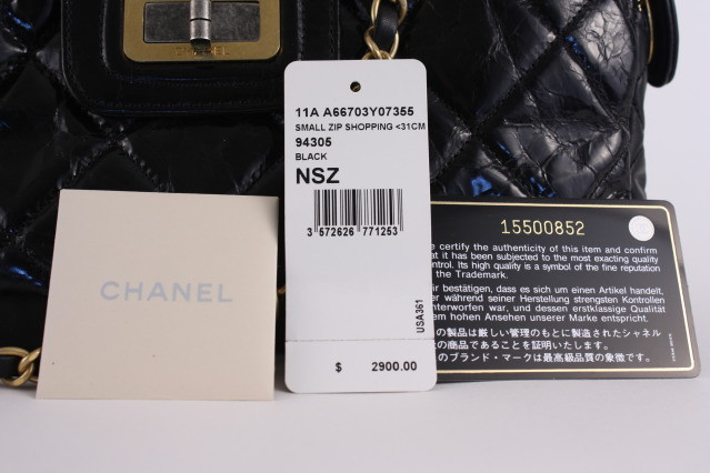 Authentic Chanel Authenticity Card