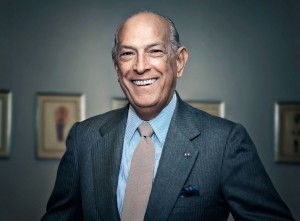 Oscar de la Renta at his fashion show at Neiman Marcus-  Chevy Chase, MD