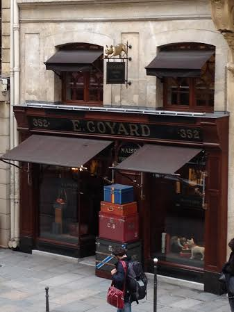 Goyard Flagship Store in Paris