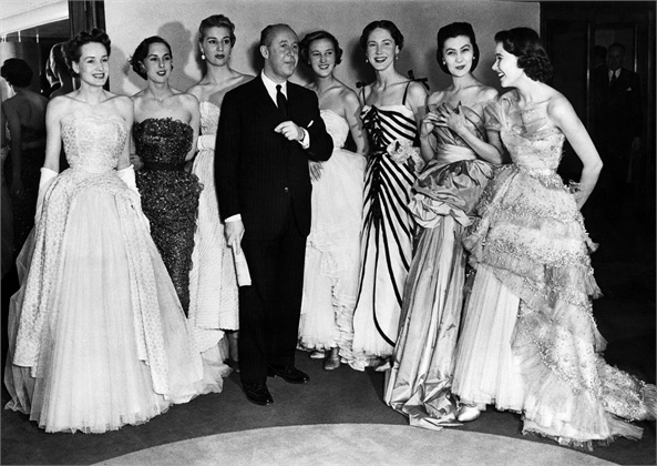 Christian Dior 1950 vintage fashion