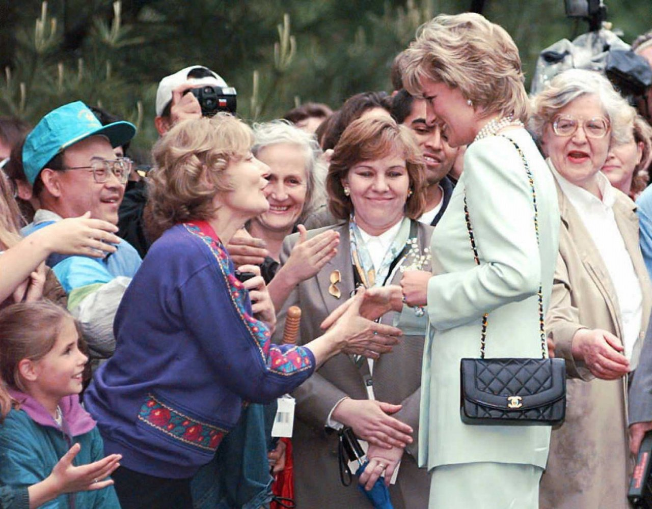 Princess Diana & Her Classic Vintage Chanel Flap Bag