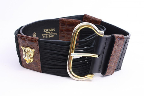 Vintage Escada Panther Belt at Rice and Beans Vintage