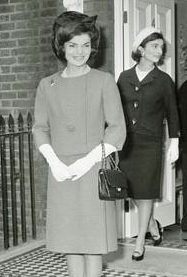 Jackie Kennedy with Vintage Chanel Handbag
