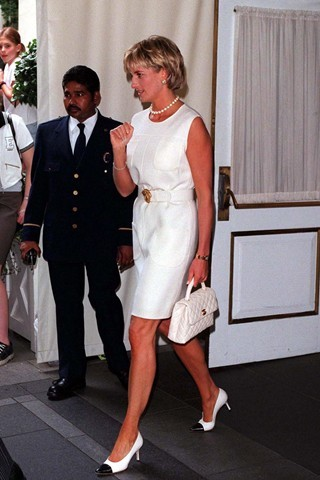 Princess Diana and her Vintage Chanel Top Handle Bag