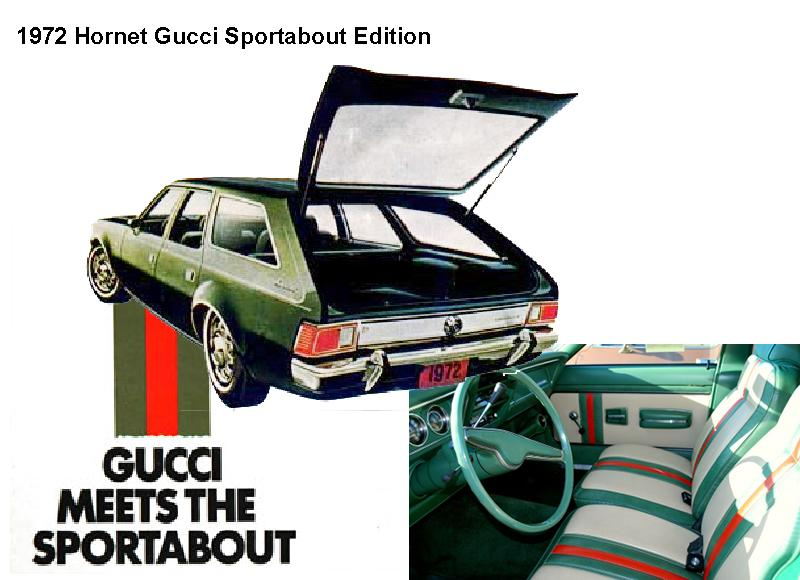 1972 Gucci Hornet Sportabout.  Image courtesy of AAA.