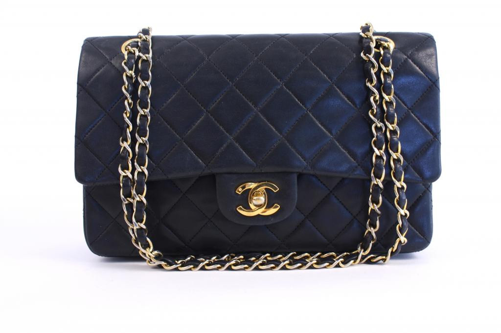 Vintage Chanel Classic Flap Bag From The Rice And Beans Archive