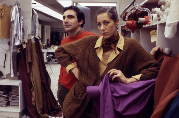 Louis Dell'Olio and Donna Karan, 1980.  Image courtesy of the Huffington Post.