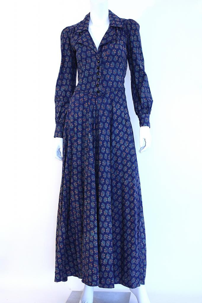 1970s India Imports cotton maxi dress from Rice and Beans Vintage