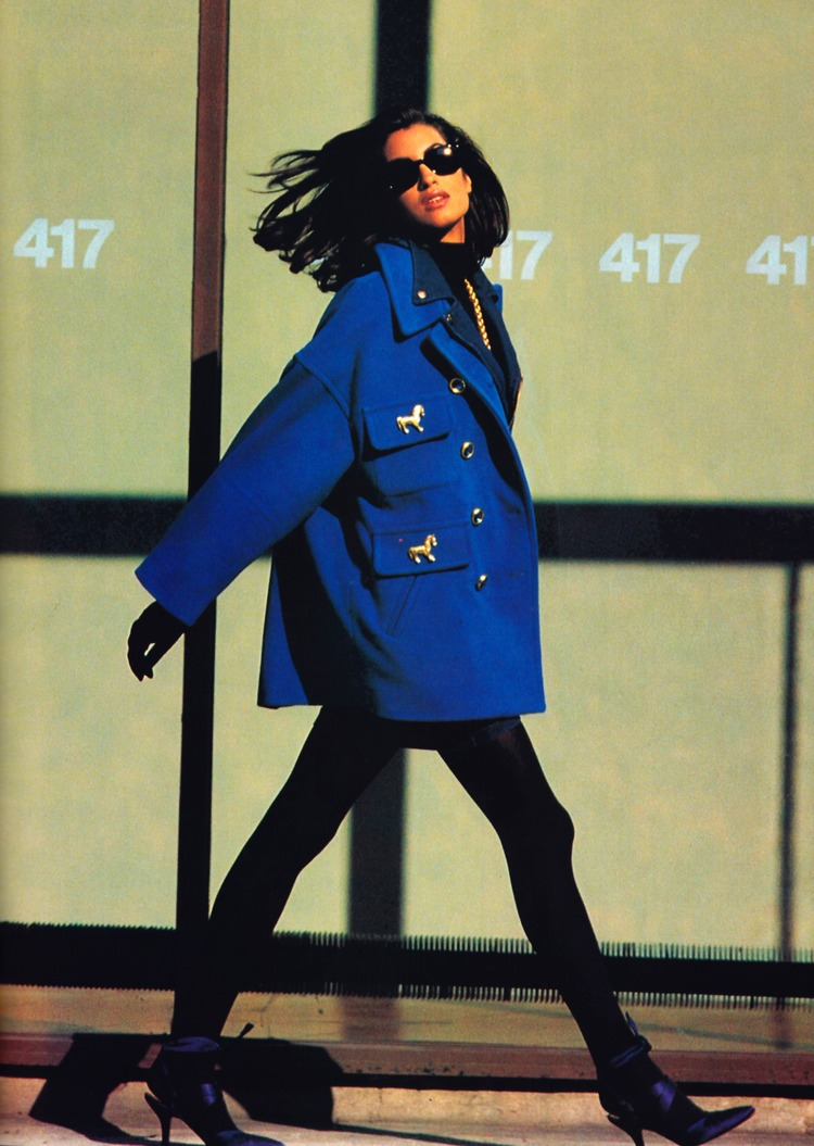 Gemma Kahng in Vogue, 1991.  Image courtesy of gemmekahng.com.