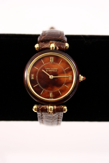 Vintage Van Cleef & Arpels watch, courtesy of Rice and Beans Vintage.