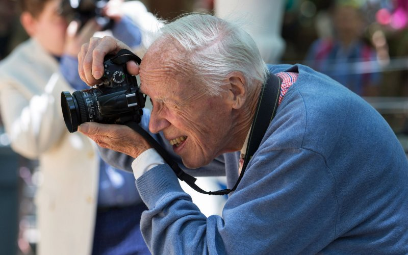 Fashion photographer Bill Cunningham.